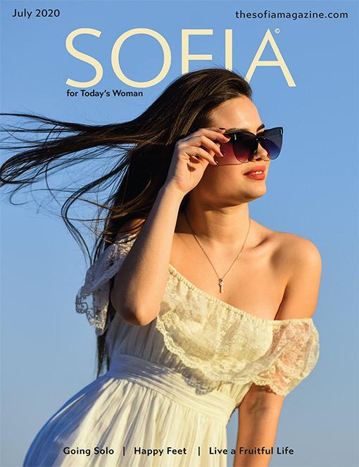 Sofia Magazine July Cover