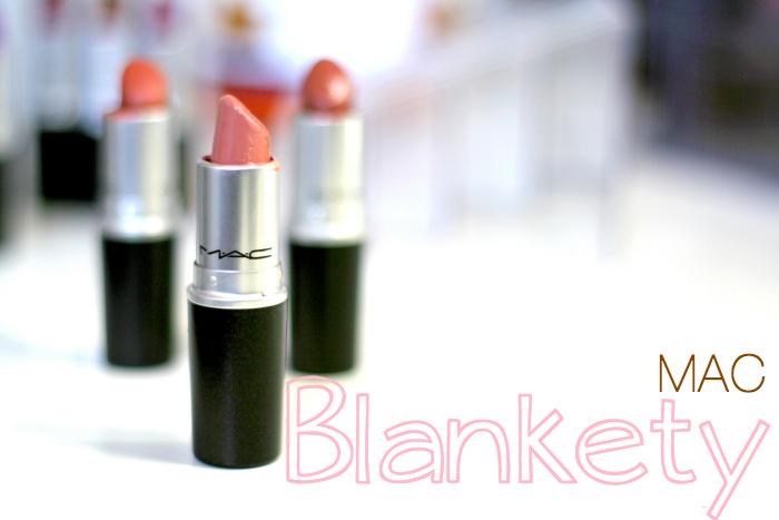 mac blankety swatch