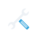 wrench and screwdriver icon - cooling tower experts