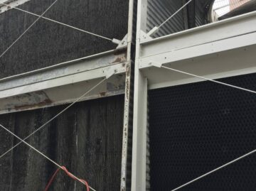 dirty cooling tower fill - cooling tower experts