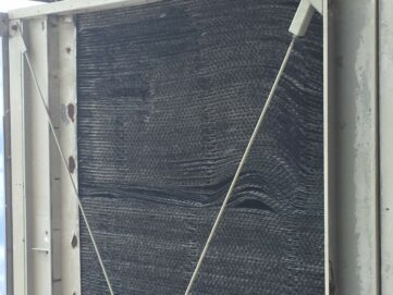 dirty crumpled fill - cooling tower experts
