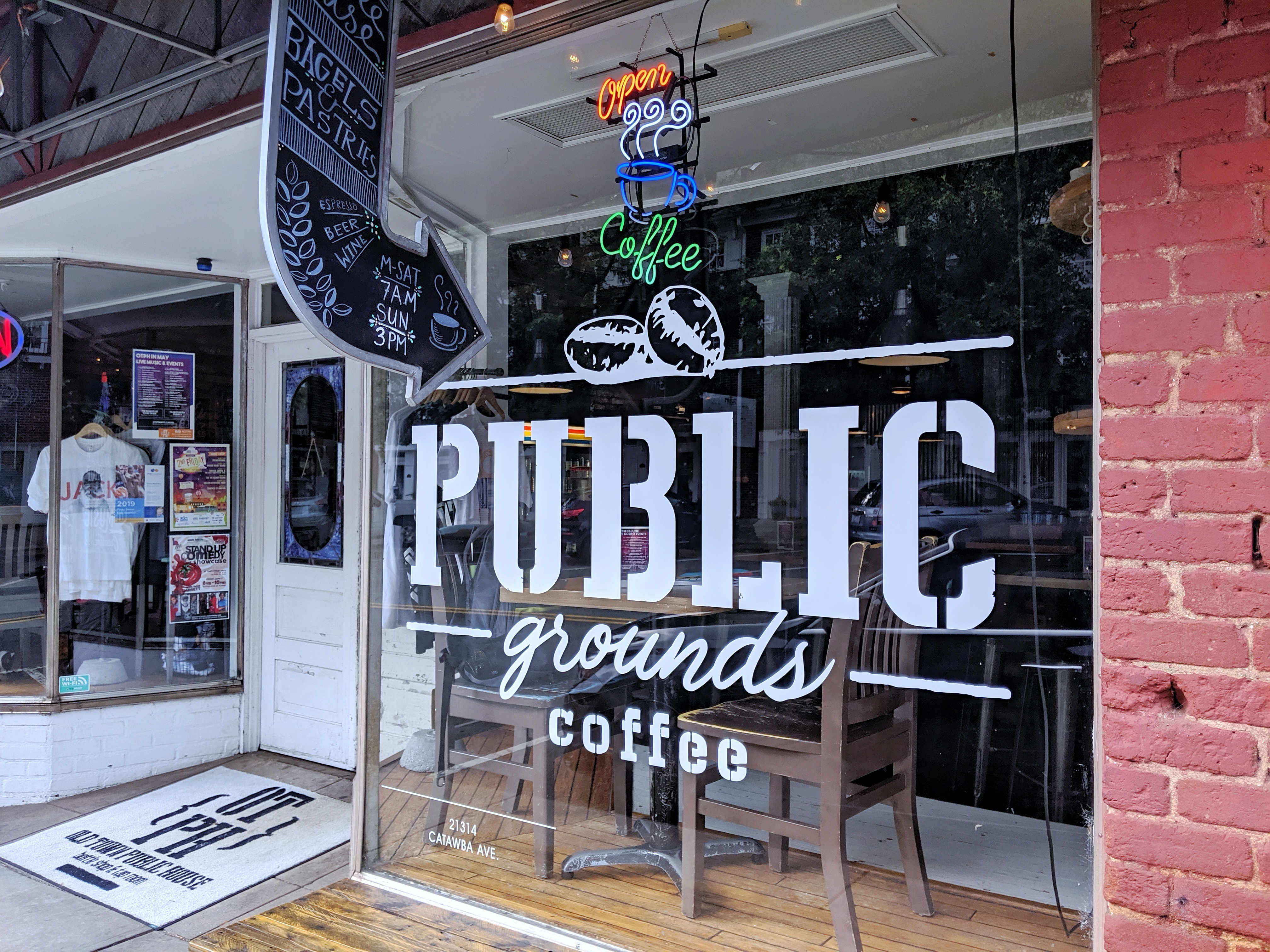 New Coffee Shop On The Block: Public Grounds