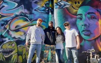 Painting The Town! The Story of Four Local Artists' Vision for OTC's Cosmic Mural