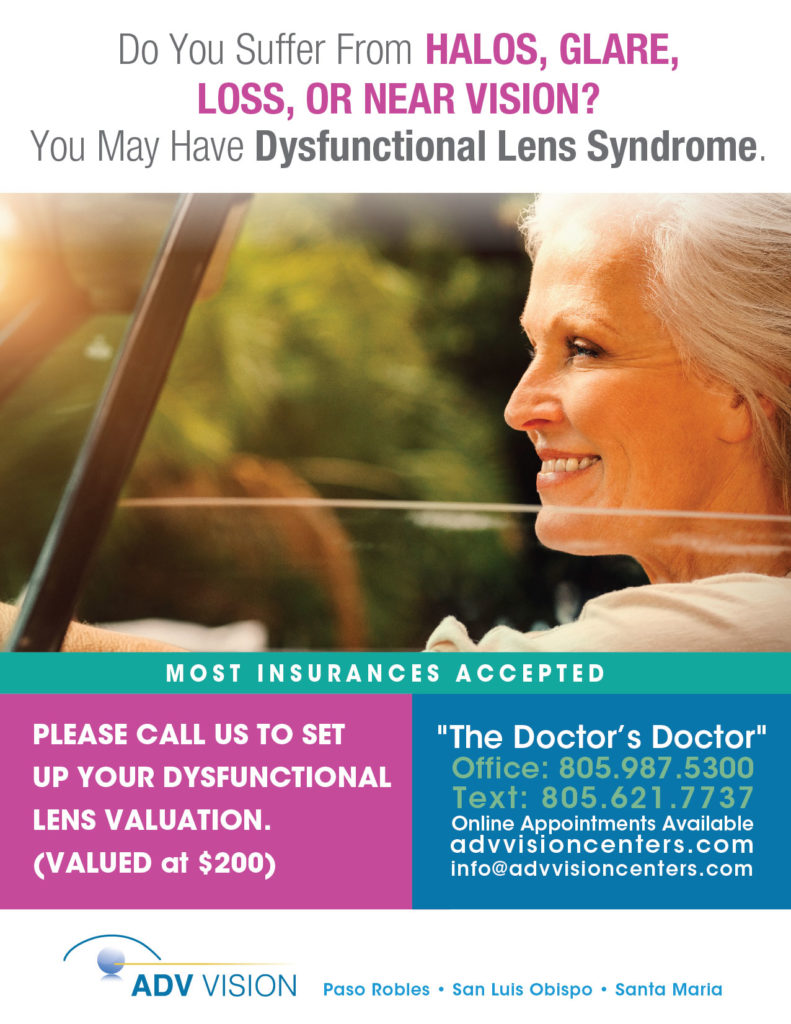 dysfunctional lens syndrome promotion