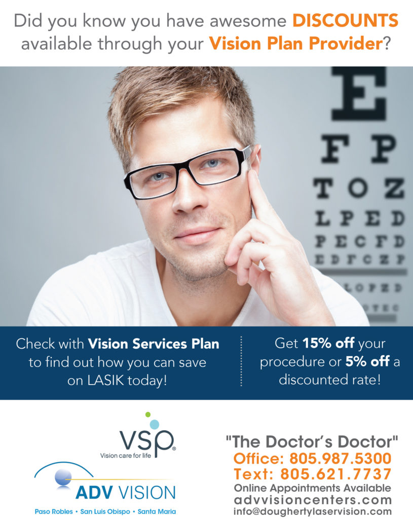LASIK savings with a vision services plan