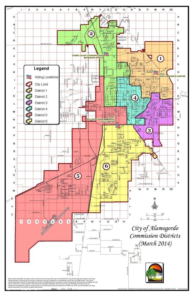 Alamogordo District Map
