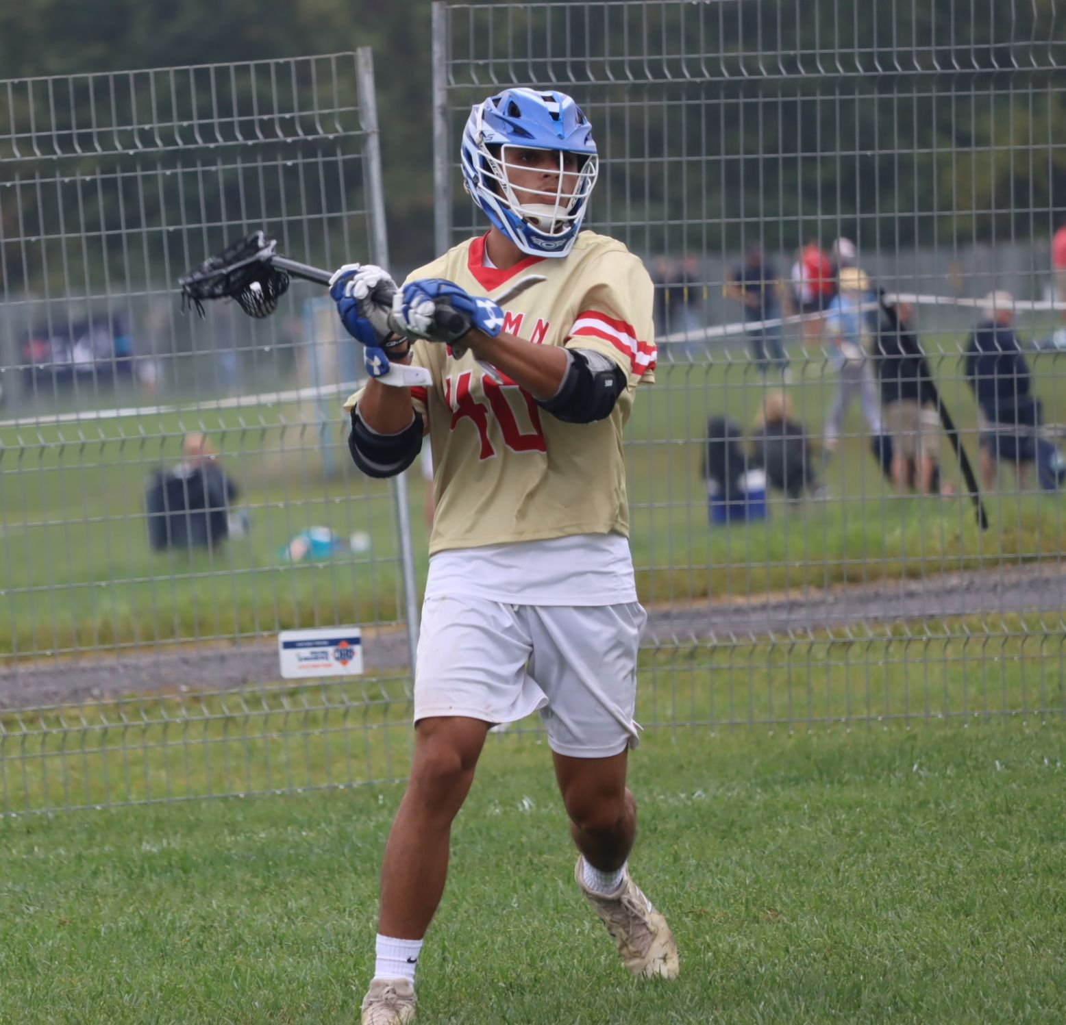 Matteo Corsi, 2021 Standout Lacrosse Player at the National All Star Games