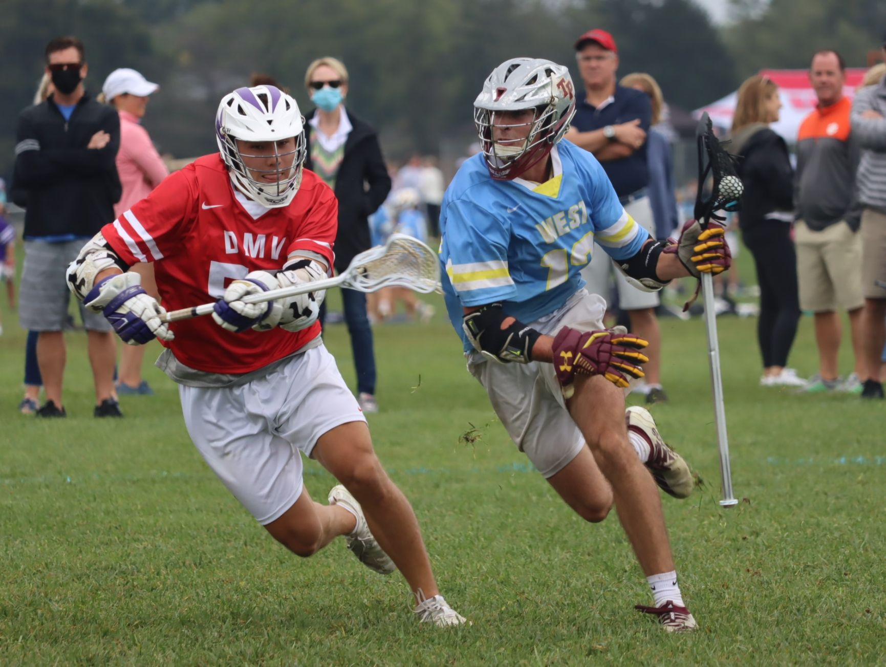 Miles Botkis, 2021 Standout Lacrosse Player at The National All Star Games