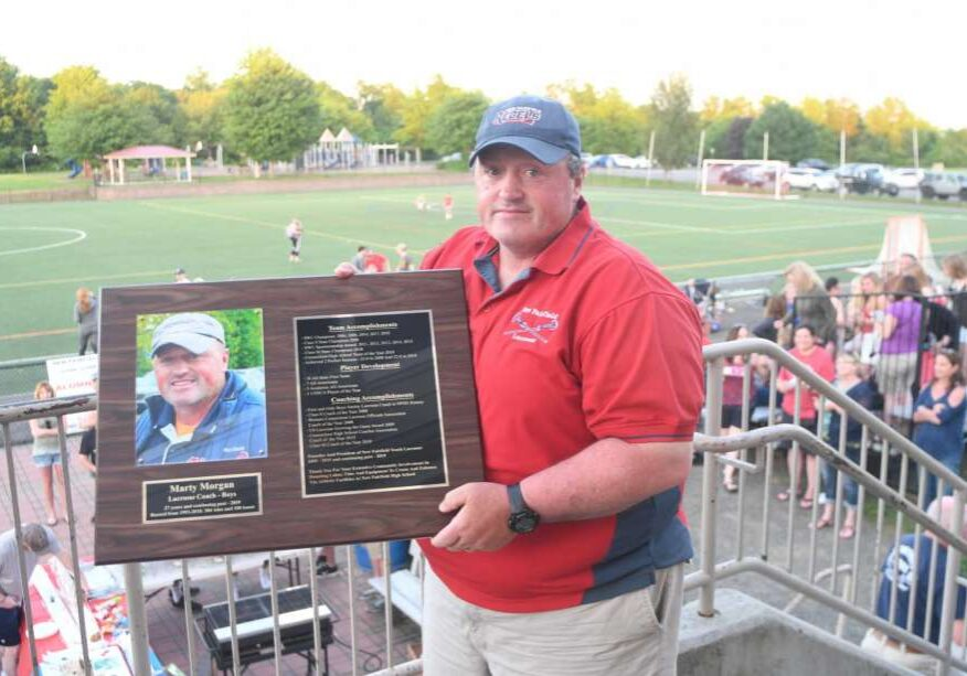Marty Morgan, Coach for the lacrosse National All Star Games