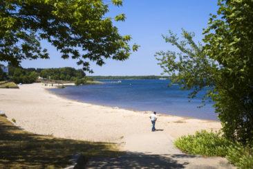 Germany turns former coal mines into vast lakeside resorts