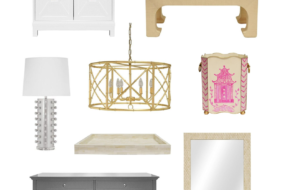 New Furniture & Lighting From Worlds Away: Coffee Tables, Chests, Mirrors, Bathroom Vanities