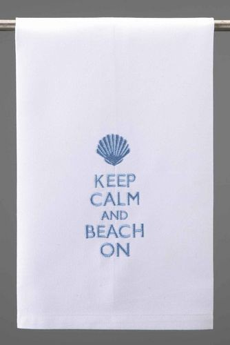 keep-calm-and-beach-on-hand-towel-set-of-4