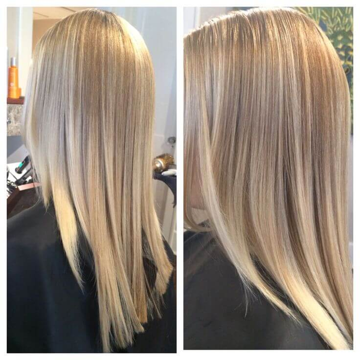 summer hair color using babylights