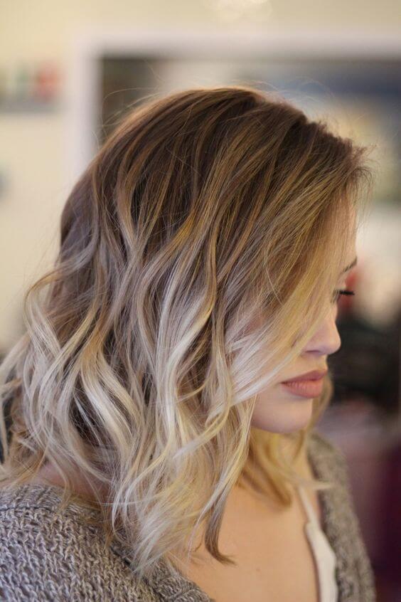 balayage summer hair color