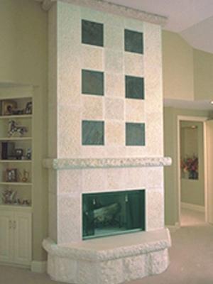 Hebron-Fireplace