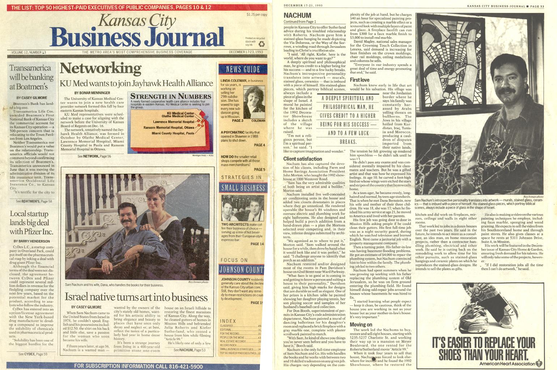 KC Business Journal 1993-1