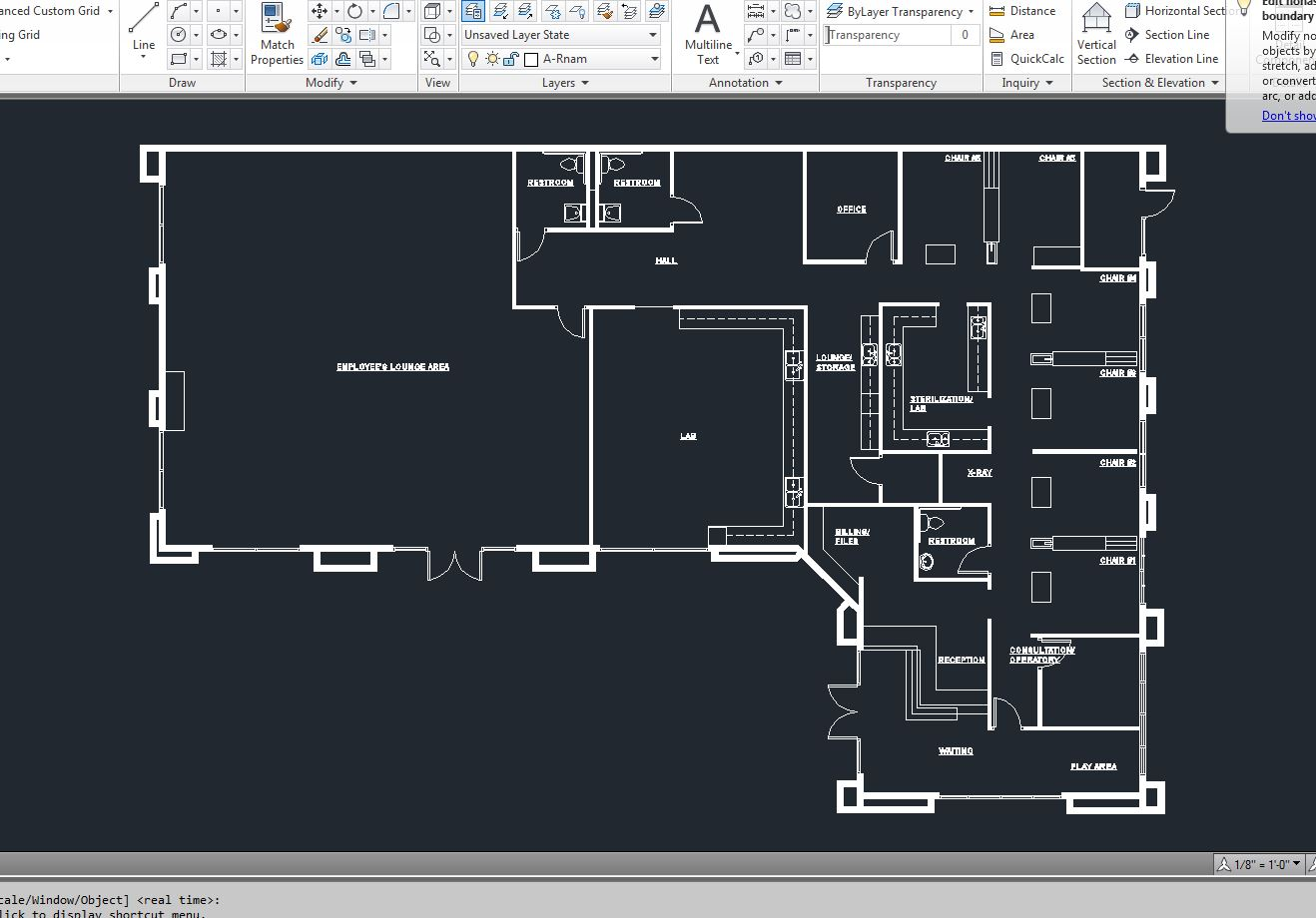 Dentist Building Floor Plan