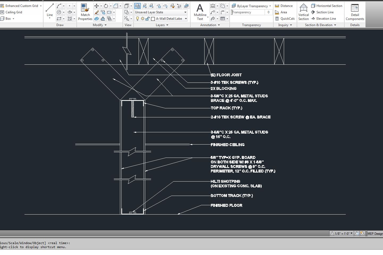 Joist Detail AutoCAD