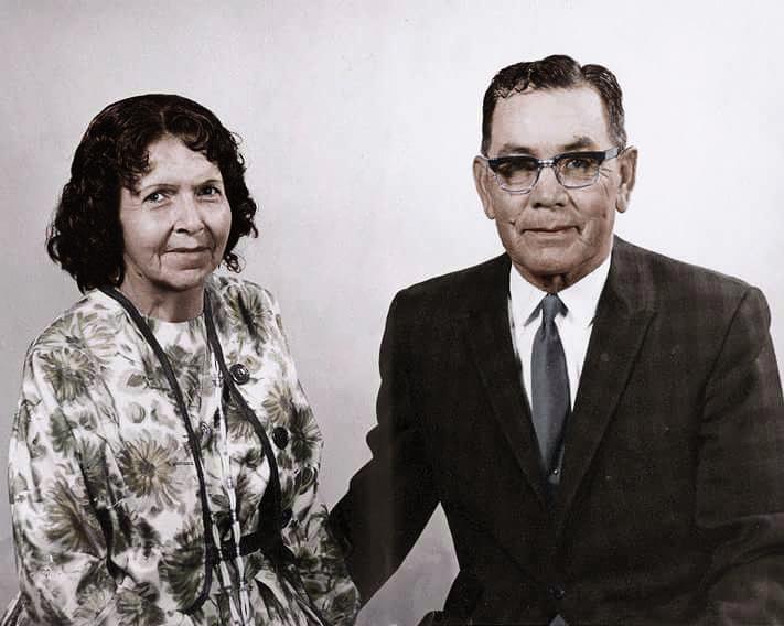 Lawrence and Cecelia Joe