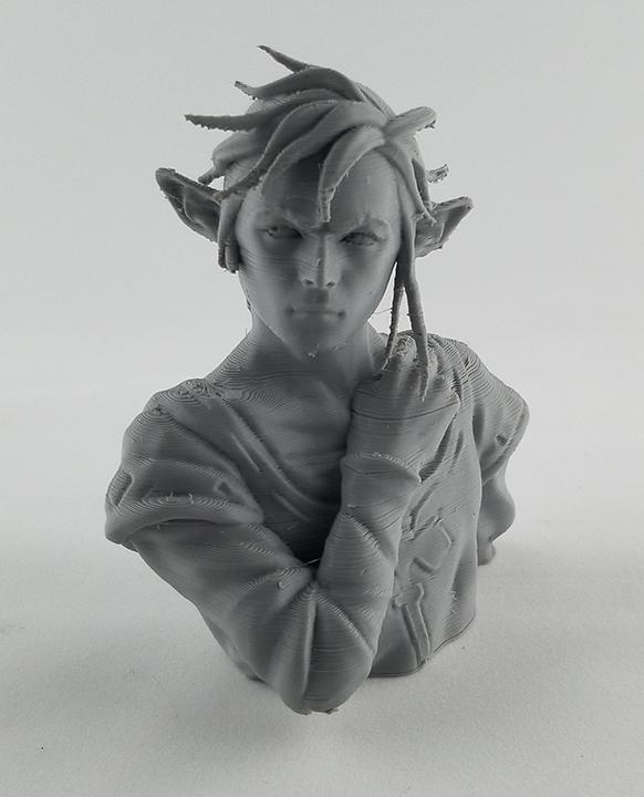 Link 3d printed model