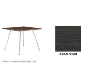 3366 - END TABLE 24D x 24W x 17H COLOR  - ASIAN NIGHT