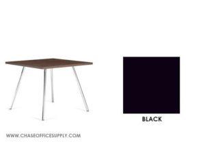 3366 - END TABLE 24D x 24W x 17H COLOR  - BLACK
