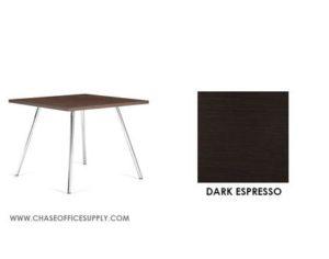 3366 - END TABLE 24D x 24W x 17H COLOR  - DARK ESPRESSO