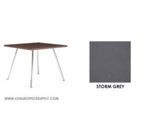 3366 - END TABLE 24D x 24W x 17H COLOR  - STORM GREY