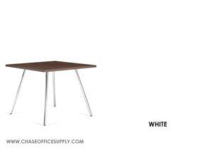 3366 - END TABLE 24D x 24W x 17H COLOR  - WHITE