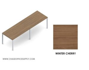 PN1203629 - FREESTANDING  TABLE  36D x 120W x 29H COLOR -   WINTER CHERRY