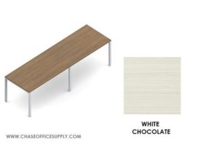 PN1203629 - FREESTANDING  TABLE  36D x 120W x 29H COLOR -   WHITE CHOCOLATE