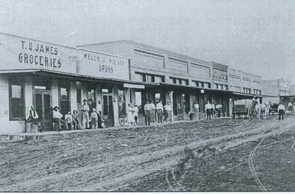 Josephine Texas Old Main Street
