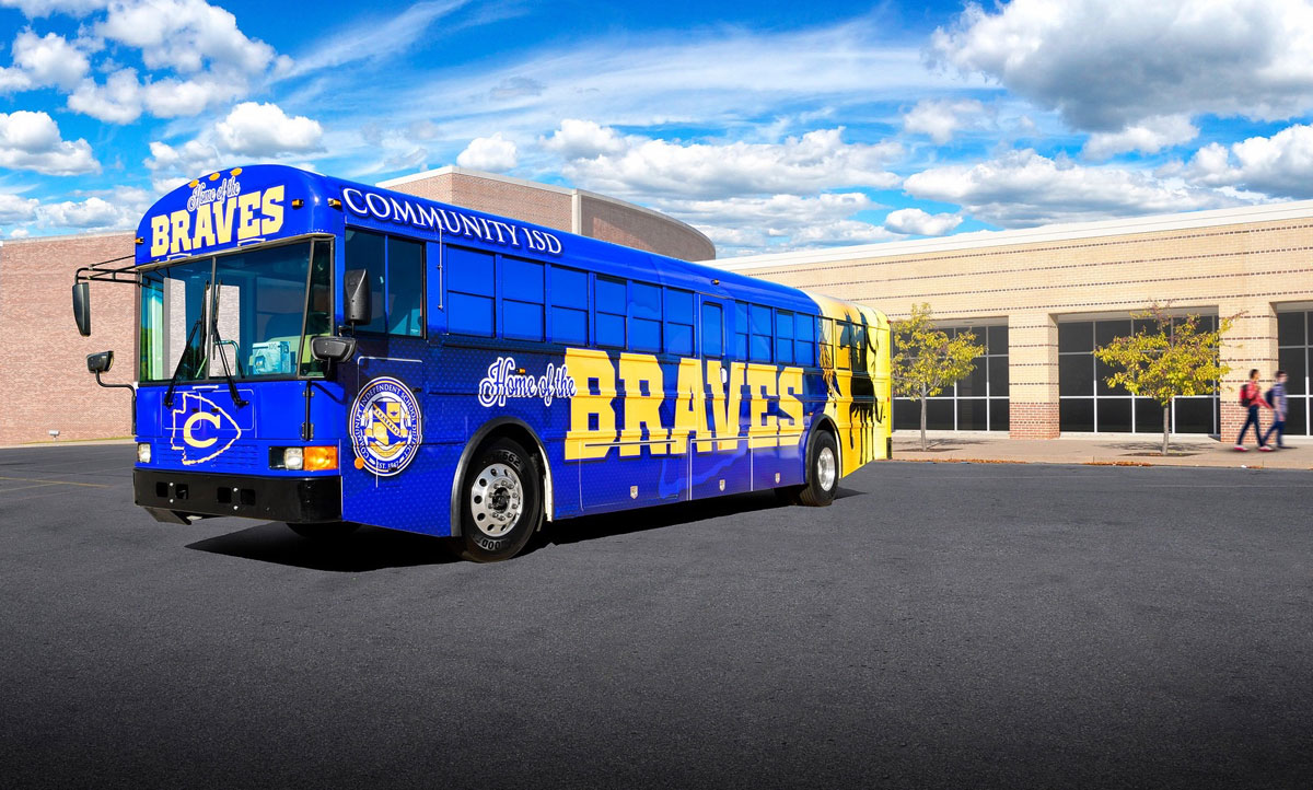 Community ISD School Bus
