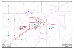 Josephine, TX subdivisions map
