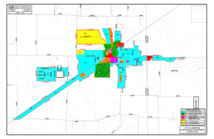 Josephine, TX Zoning District Boundaries