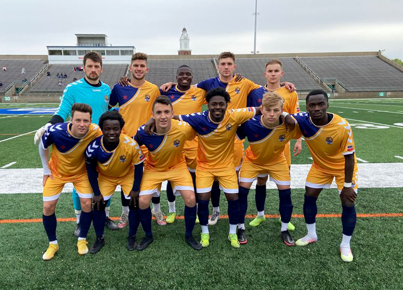 South Bend Lions first starting XI versus Old Bhoys