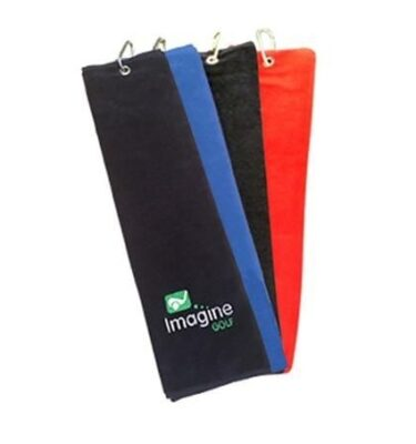 Turnberry Trifold Golf Towel