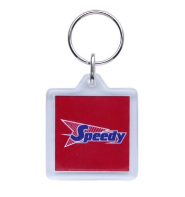 K10 Square Keyring 39 x 39mm