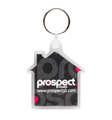 K18 House Keyring 53 x 64mm