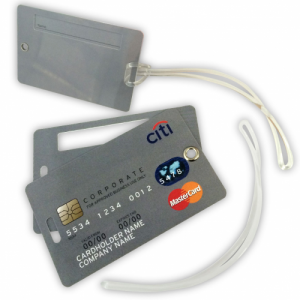 Luggage Tag - Credit Card Style