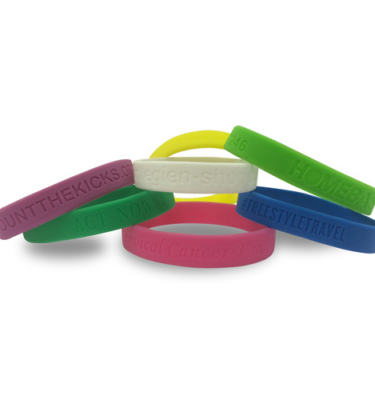 Silicon Wristbands - Debossed