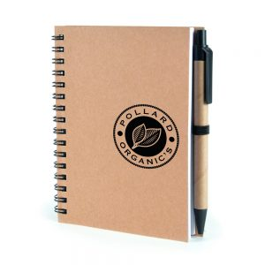 Verno A6 Recycled Wire-Bound Note pad