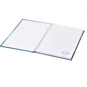 A5 Wirebound Notebook with Hard Cover