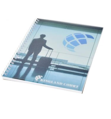 A5 Wirebound Notebook with Polypropylene Cover