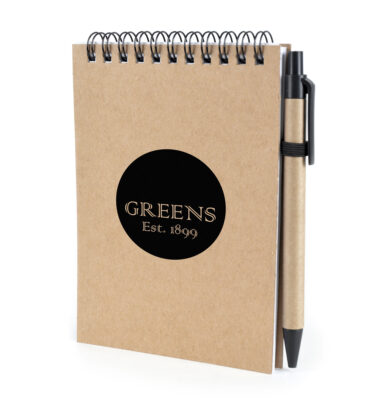 A6 Recycled Wire-Bound Note pad