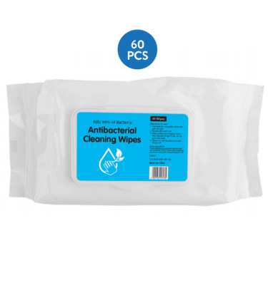 Antibacterial Wipes 60