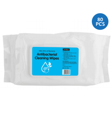 Antibacterial Wipes 80