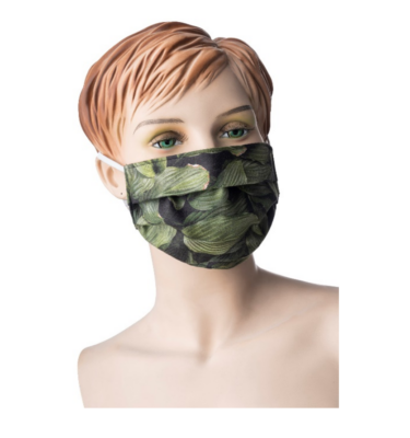 Face masks with elastic strap