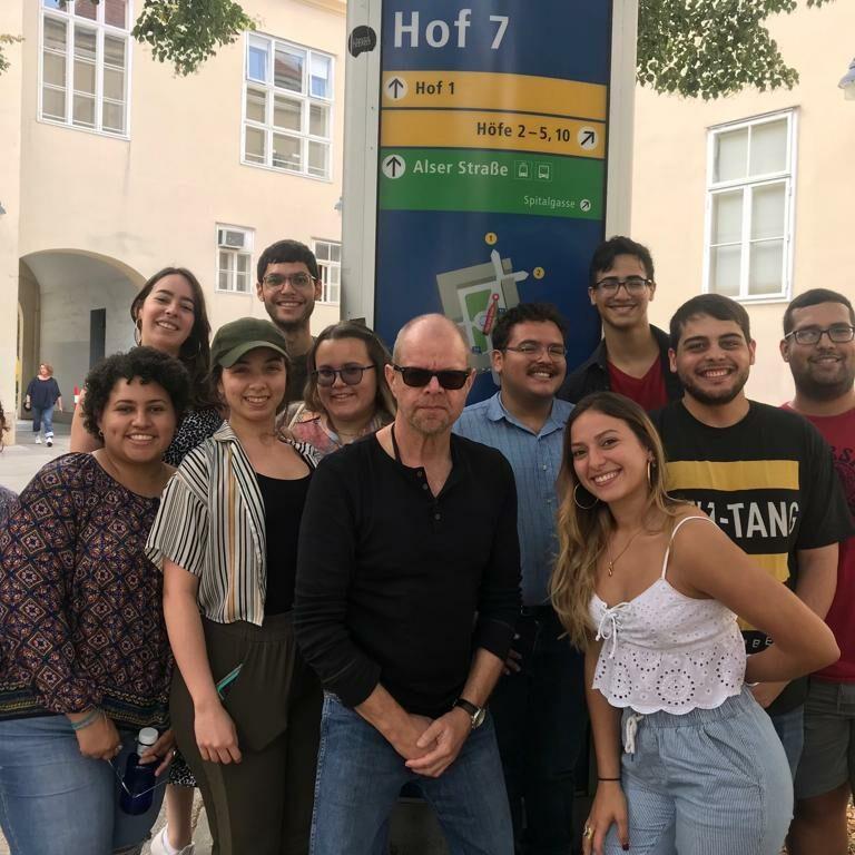 Deutschstudenten in Wien