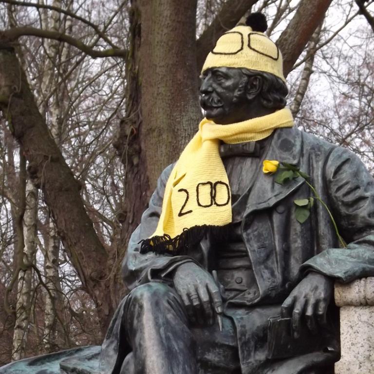 Theodor Fontane, Denkmal in Neuruppin
